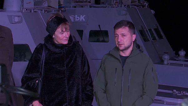 Állítólag megrongálták a visszaszolgáltatott ukrán hadihajókat