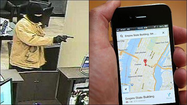 Yakalanan banka soyguncusu konum bilgilerini polisle paylaştığı için Google'ı suçluyor