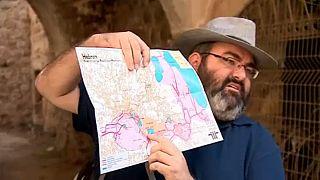 Guías turísticos en Hebrón para explicar los asentamientos