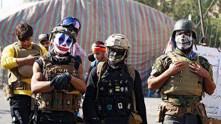 7 قتلى في مواجهات بين الشرطة العراقية ومتظاهرين ببغداد