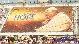 Papst: Messe in Bangkok