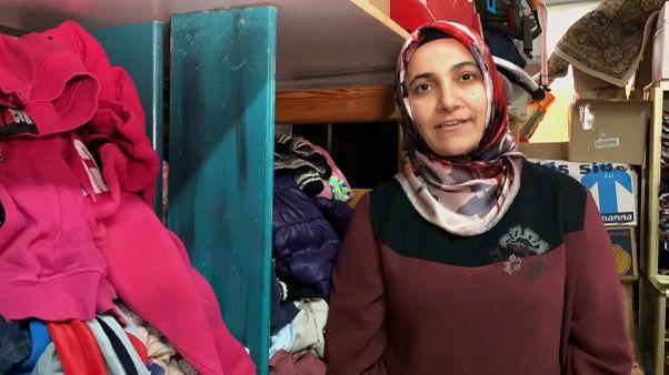 À procura de refúgio na Grécia