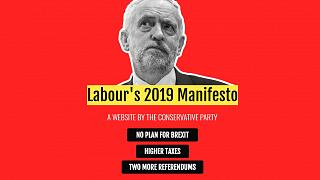 UK general election: Conservatives launch 'fake' manifesto website for rivals Labour