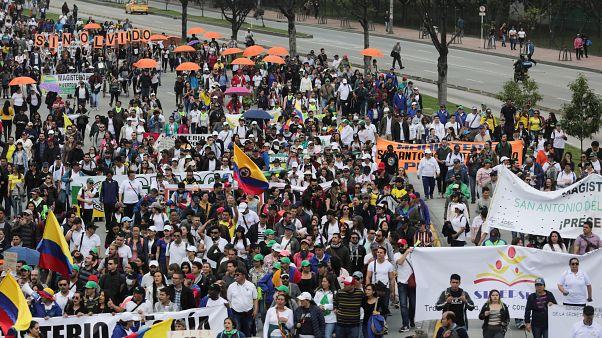 El estallido social latinoamericano llega a Colombia en forma de paro nacional