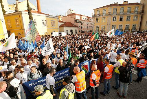 Λισαβόνα: Μαζική κινητοποίηση αστυνομικών