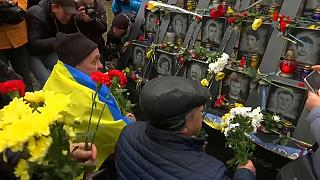 Ucrânia celebra seis anos da revolta pró-ocidental de 2013