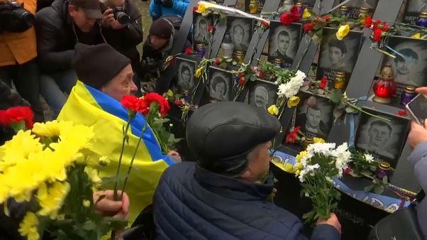 Ucrania conmemora el sexto universario del Euromaidán