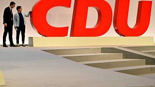 """Mit großem """"C"""" und kämpferischer AKK:  CDU-Bundesparteitag in Leipzig"""