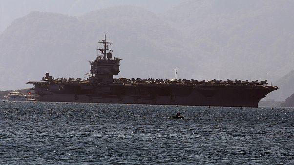Amerikan savaş gemileri Güney Çin Denizi'nde