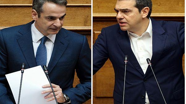 Σύγκρουση Μητσοτάκη-Τσίπρα στην «Ώρα του Πρωθυπουργού»