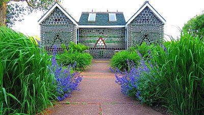 The six gabled house on Prince Edward Island, Canada.