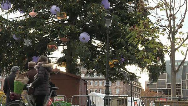 Ein Jahr nach Anschlag: Weihnachtsmarkt öffnet in Straßburg