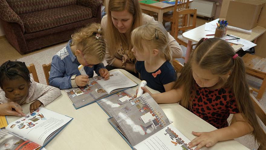 Tales and tech to kindle love of books in kindergarten kids