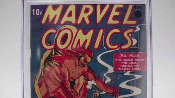 Soma milionária pelo primeiro número da Marvel