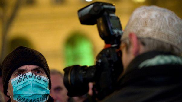 Tüntetés a sajtószabadságért 2011-ben