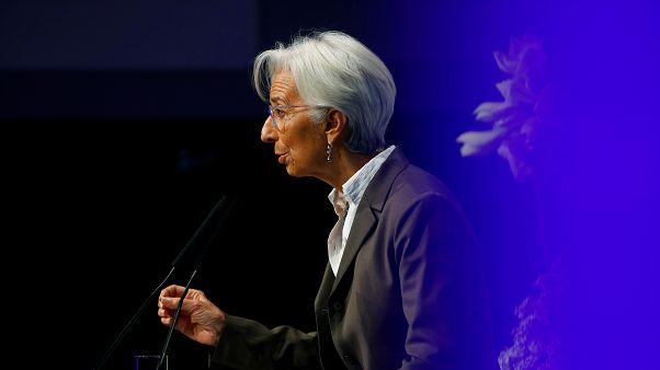 Lagarde pide a los países de la eurozona potenciar la demanda interna