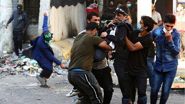 Újabb három tüntetőt öltek meg az iraki biztonsági erők
