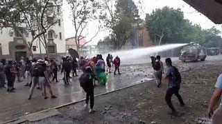 Confrontos violentos no Chile