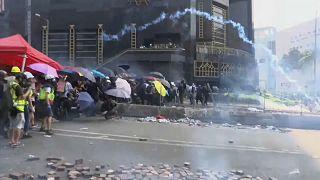 شاهد: أفضل اللقطات.. احتجاجات هونغ كونغ والبندقية تتنفس تحت الماء وسوري يقبل الأسود