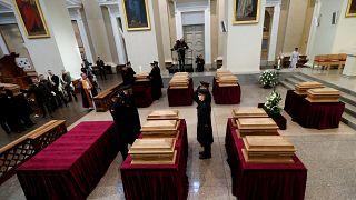 Des rebelles anti-tsaristes exhumés et honorés à Vilnius
