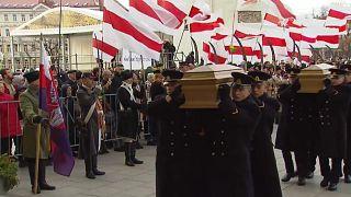 Герои трёх стран: в Вильнюсе похоронили повстанцев 1863 года