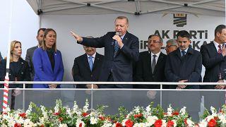 Türkiye Cumhurbaşkanı Recep Tayyip Erdoğan İzmir'de - Anadolu Ajansı