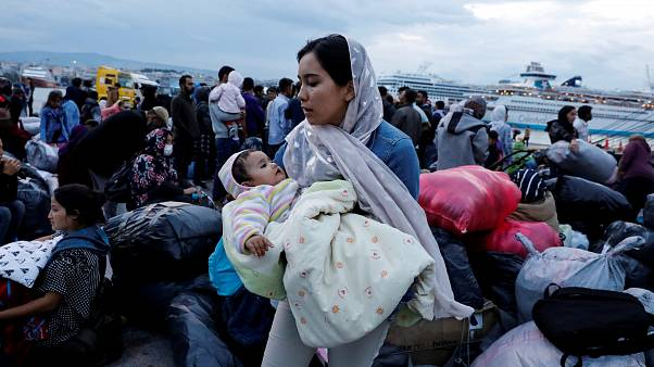 Greece is already moving migrants onto the mainland.