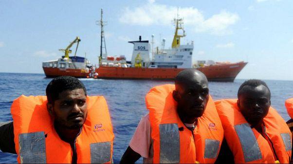 مسیر مرگبار لیبی؛ شش مهاجر جان باختند، یکصد نفر نجات یافتند