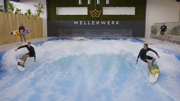 'Ich bin ein surfer': Berliners get first artificial wave factory
