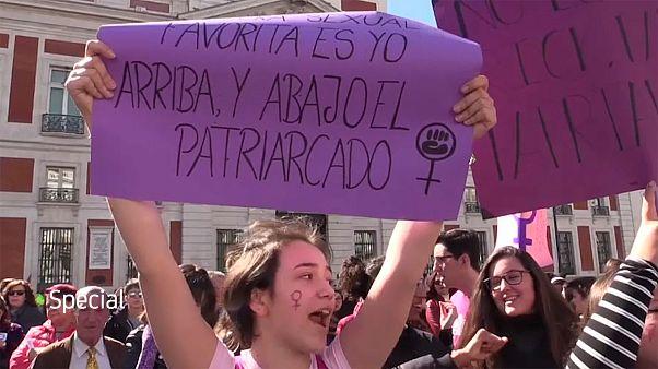 En vidéo : les violences faites aux femmes n'épargnent aucun pays en Europe