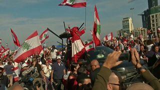 Tag der Unabhängigkeit im Libanon: Zehntausende protestieren
