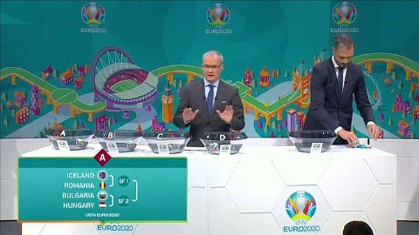 Labdarúgó Eb 2020: Először Bulgárián kell túljutni a pótselejtezőn