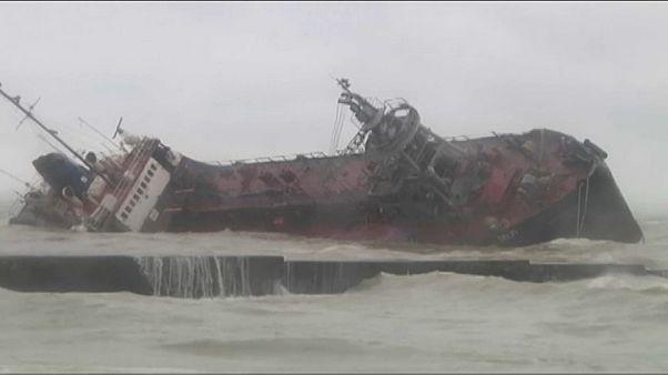 Кораблекрушение под Одессой: сел на мель танкер
