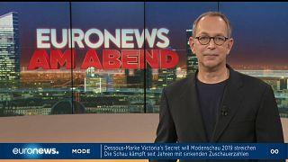 euronews am Abend - Freitag 22. November: AKK, Netanjahu & Twitter