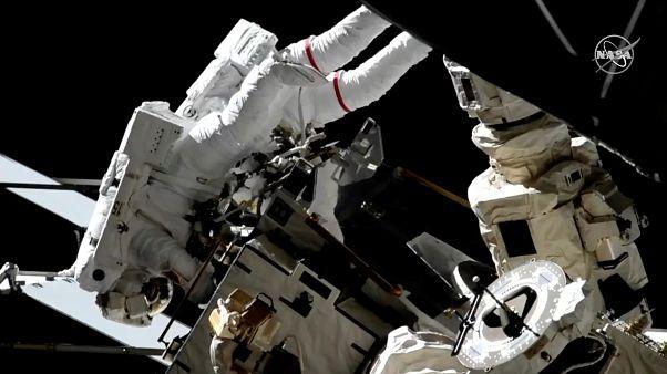 شاهد: مهمة معقدة في محطة الفضاء الدولية