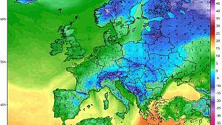 Sarkvidéki, extrém hideg érkezhet Európába a hét végére