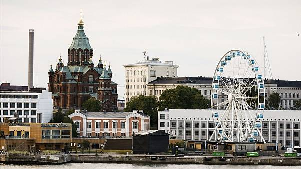 Finlandiya'nın Helsinki şehri