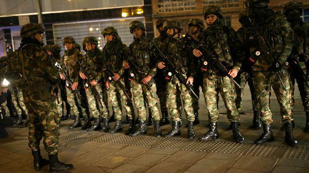 Kolumbia: kijárási tilalom a fővárosban