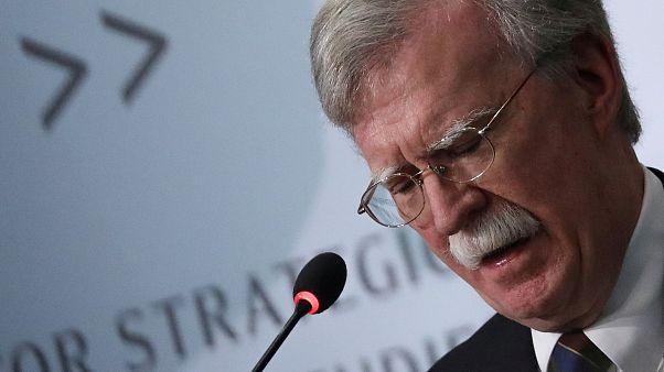 مستشار الأمن القومي السابق في البيت الأبيض جون بولتون