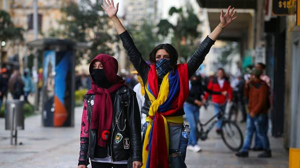 روز دوم اعتراضها در کلمبیا؛ در پایتخت حکومت نظامی اعلام شد