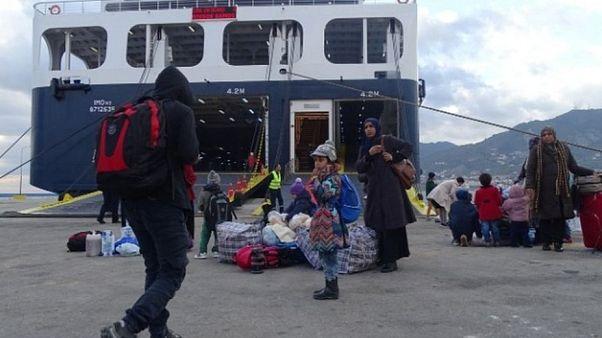 Στον Πειραιά το «Διαγόρας» με μετανάστες και πρόσφυγες