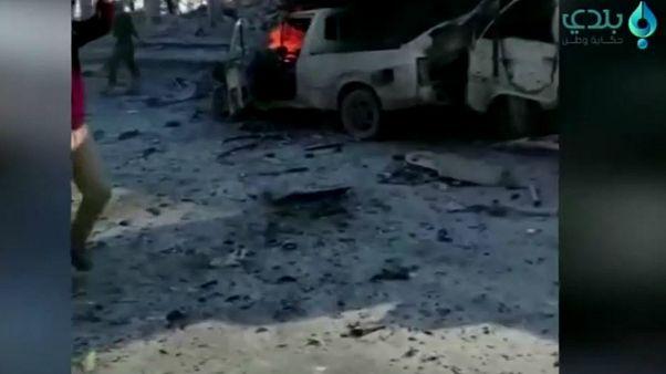 انفجار در نزدیکی مرز سوریه با ترکیه جان ۱۰ نفر را گرفت