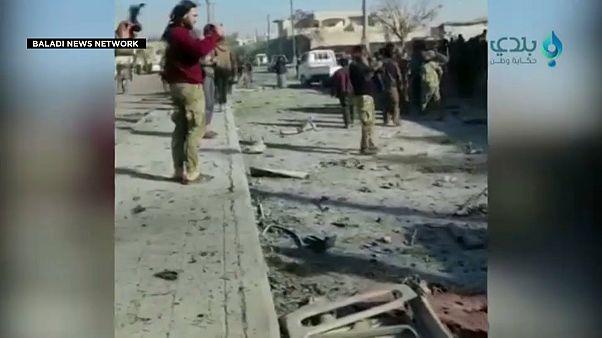 صورة من موقع الانفجار