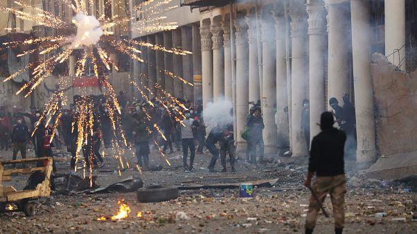 مقتل شخص على الأقل برصاص الشرطة العراقية في احتجاجات سلمية في بغداد