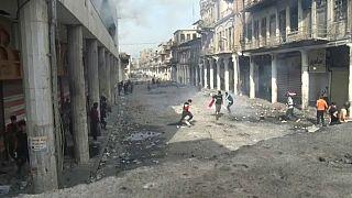 Scènes de guérilla urbaine à Bagdad