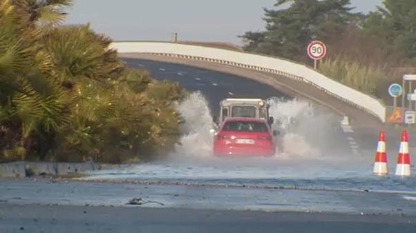 Two missing and hundreds of homes flooded as storms hit southeast France