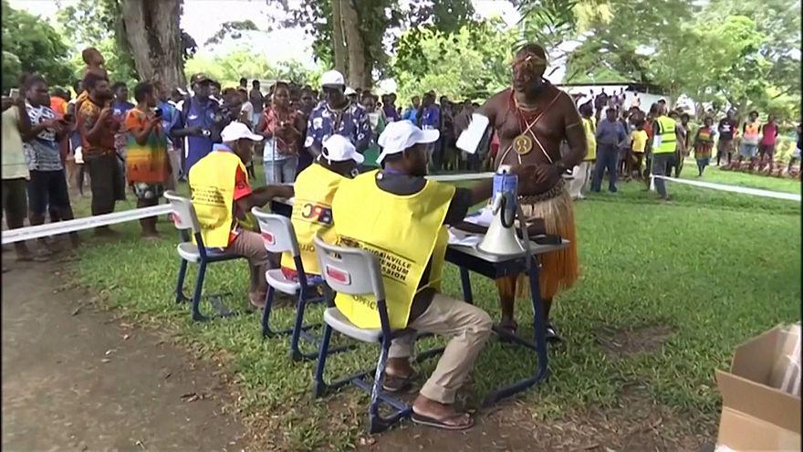 Остров с крупнейшим месторождением меди голосует за независимость
