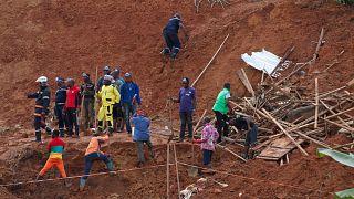 Afrika'nın doğusunda toprak kaymaları / Kamerun