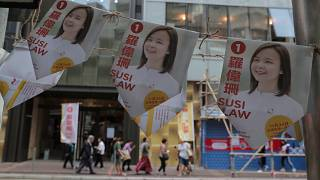 Hong Kong'da seçim kampanyaları