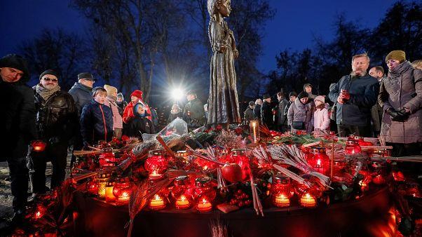 Oυκρανία: Εκδηλώσεις μνήμης για τον Μεγάλο Λιμό